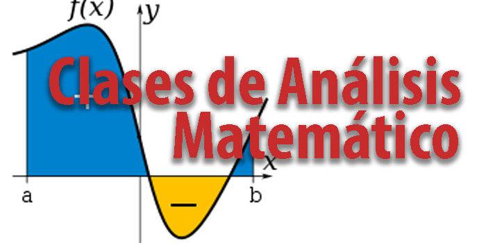 Clases de Análisis Matemático en Zona Norte